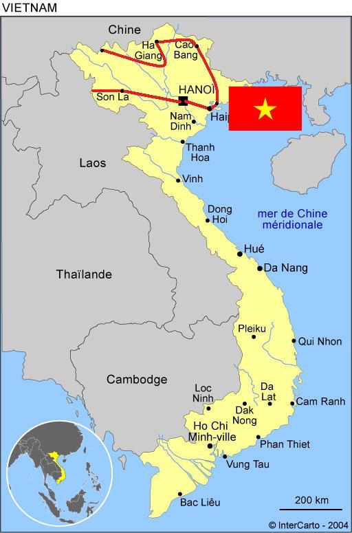 19) Présentation et Programme Chine, VietNam et Laos